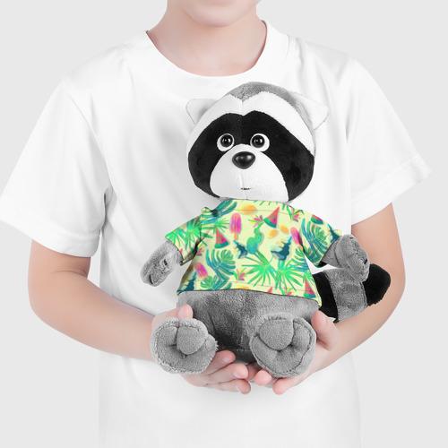 Енотик в футболке 3D  Фото 04, Прохладная свежесть