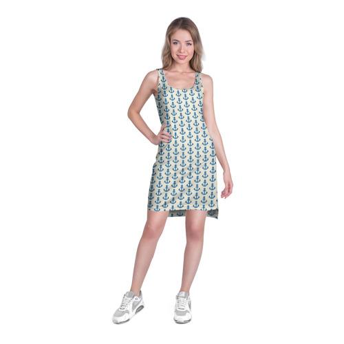 Платье-майка 3D Якоря Фото 01