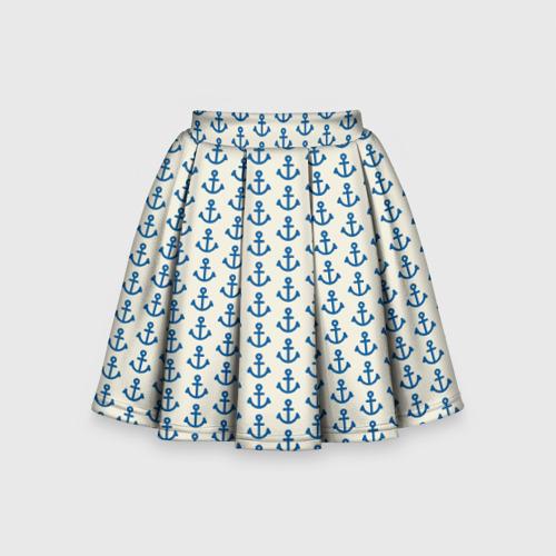 Детская юбка-солнце 3D Якоря Фото 01