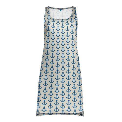 Платье-майка 3D Якоря