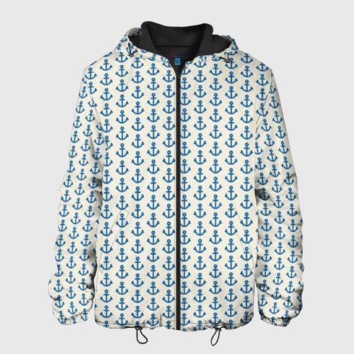 Мужская куртка 3D Якоря Фото 01
