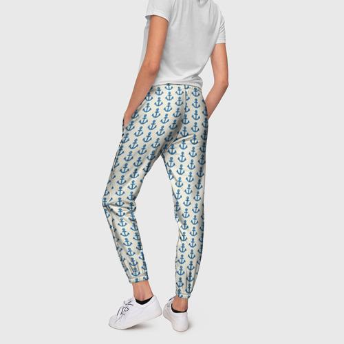 Женские брюки 3D  Фото 02, Якоря