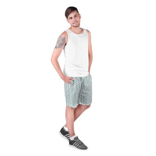 Мужские шорты 3D  Фото 03, Якоря