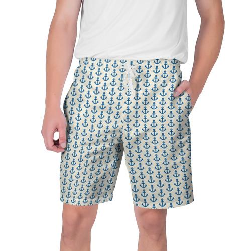 Мужские шорты 3D Якоря