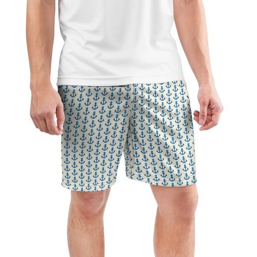 Мужские шорты спортивные Якоря Фото 01