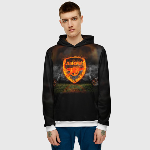 Мужская толстовка 3D  Фото 03, Arsenal FC. Gunners