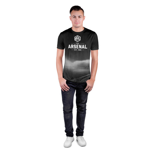 Мужская футболка 3D спортивная Arsenal FC Фото 01