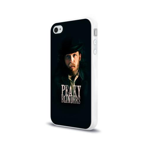 Чехол для Apple iPhone 4/4S силиконовый глянцевый Peaky Blinders 1 Фото 01