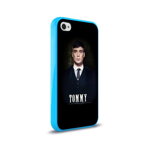 Чехол для Apple iPhone 4/4S силиконовый глянцевый Peaky Blinders 2 Фото 01