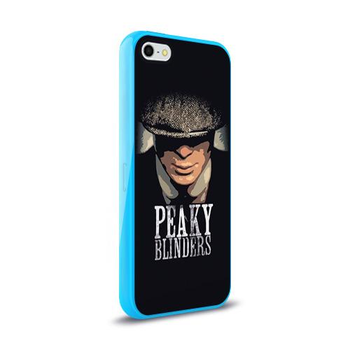 Чехол для Apple iPhone 5/5S силиконовый глянцевый Peaky Blinders 5 Фото 01
