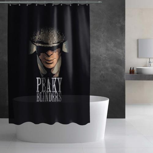 Штора 3D для ванной Peaky Blinders 5 Фото 01