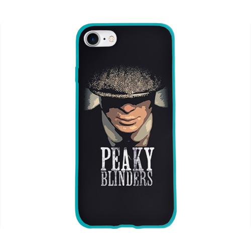 Чехол для Apple iPhone 8 силиконовый глянцевый Peaky Blinders 5 Фото 01
