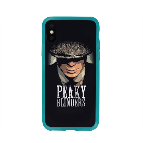 Чехол для Apple iPhone X силиконовый глянцевый Peaky Blinders 5 Фото 01