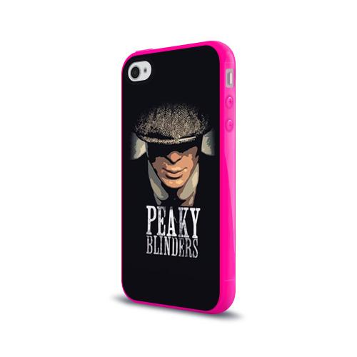 Чехол для Apple iPhone 4/4S силиконовый глянцевый Peaky Blinders 5 Фото 01