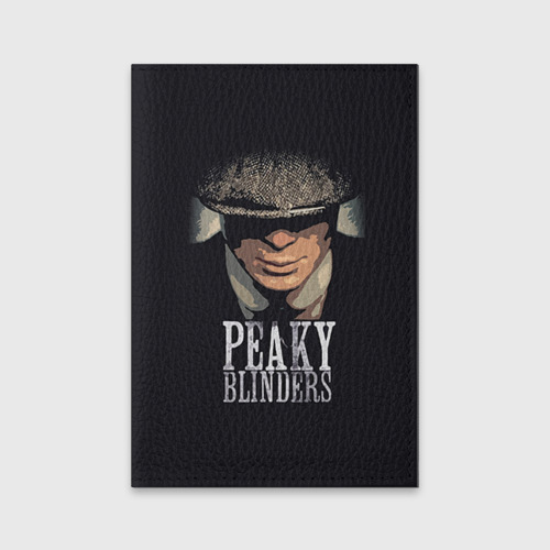 Обложка для паспорта матовая кожа Peaky Blinders 5 Фото 01