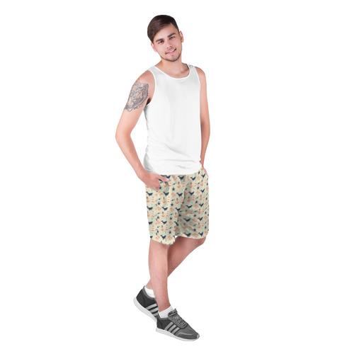 Мужские шорты 3D  Фото 03, Киты