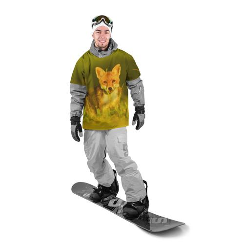Накидка на куртку 3D  Фото 03, Лисичка