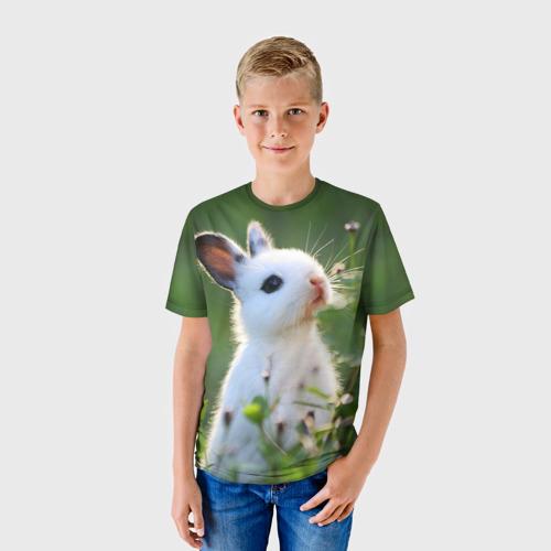 Детская футболка 3D Кролик
