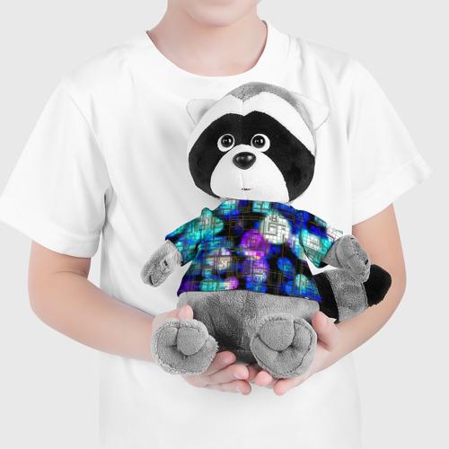 Енотик в футболке 3D  Фото 04, Плата