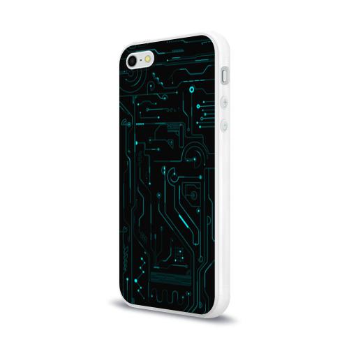 Чехол для Apple iPhone 5/5S силиконовый глянцевый Hi-Tech Фото 01