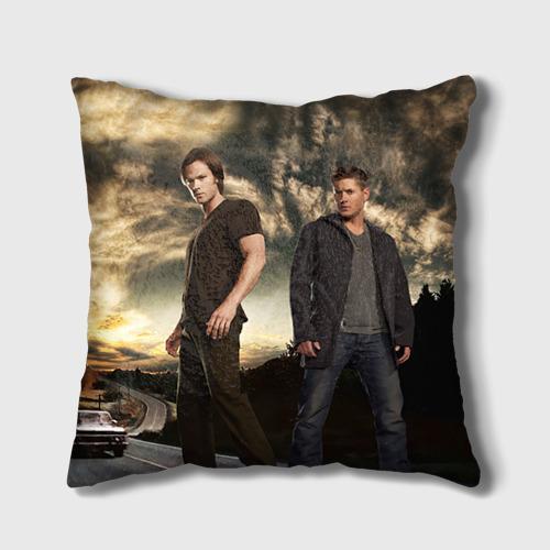 Подушка 3D  Фото 01, Supernatural 3