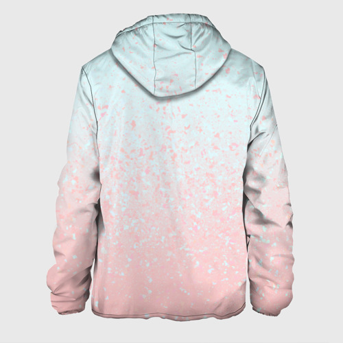 Мужская куртка 3D  Фото 02, Pink Blue Gradient