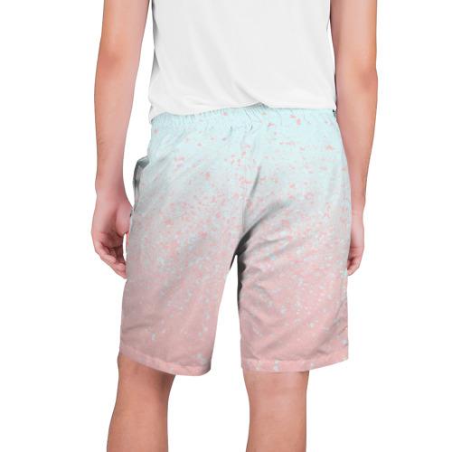 Мужские шорты 3D  Фото 02, Pink Blue Gradient