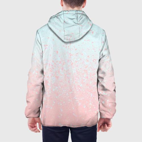 Мужская куртка 3D  Фото 05, Pink Blue Gradient
