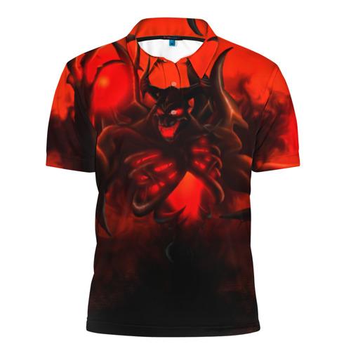 Мужская рубашка поло 3D  Фото 01, Dota2