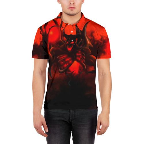 Мужская рубашка поло 3D  Фото 03, Dota2