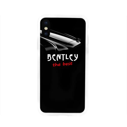 Чехол для Apple iPhone X силиконовый глянцевый  Фото 01, Bentley the best