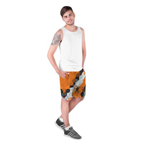 Мужские шорты 3D  Фото 03, CS GO Asiimov camouflage