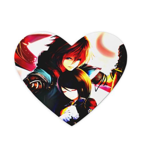 Коврик сердце  Фото 01, Mushimaro