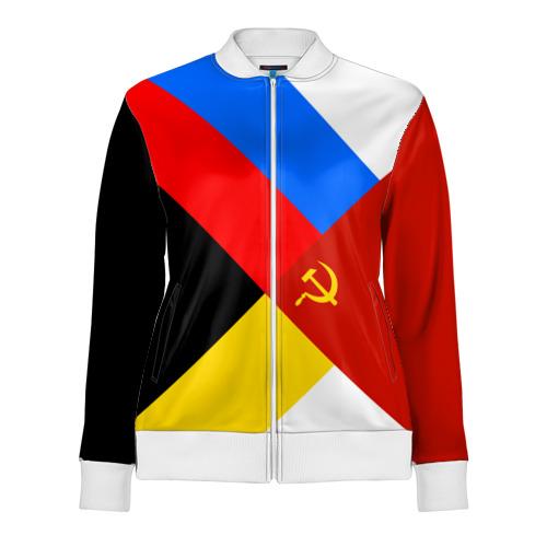 Женская олимпийка 3D Вечная Россия