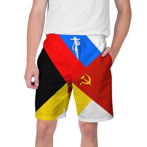 Мужские шорты 3D Вечная Россия