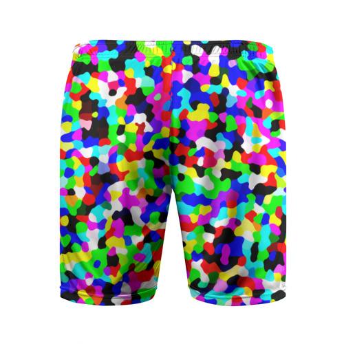 Мужские шорты 3D спортивные  Фото 02, Цветной шум