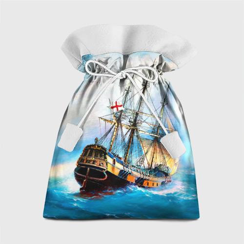 Подарочный 3D мешок Корабль