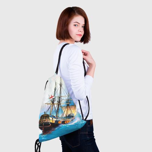 Рюкзак-мешок 3D Корабль Фото 01