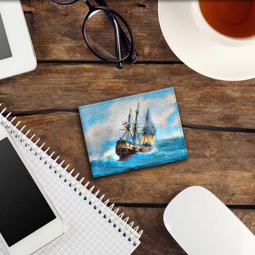 Обложка для студенческого билета Корабль Фото 01