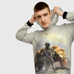 Русский медведь и солдат