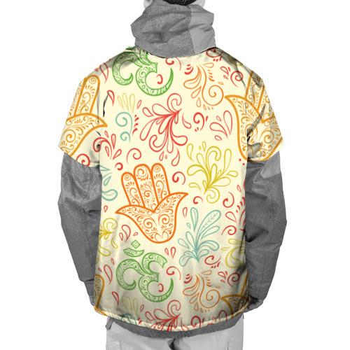 Накидка на куртку 3D  Фото 02, Цветочные узоры
