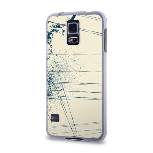 Чехол для Samsung Galaxy S5 силиконовый  Фото 03, Текстура