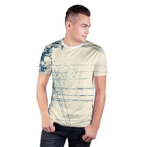 Мужская футболка 3D спортивная  Фото 03, Текстура