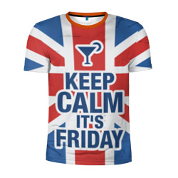 Keep calm it's friday