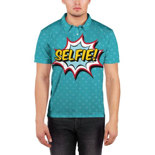 Мужская рубашка поло 3D  Фото 03, Сэлфи!