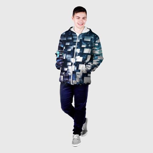 Мужская куртка 3D  Фото 03, Абстракция