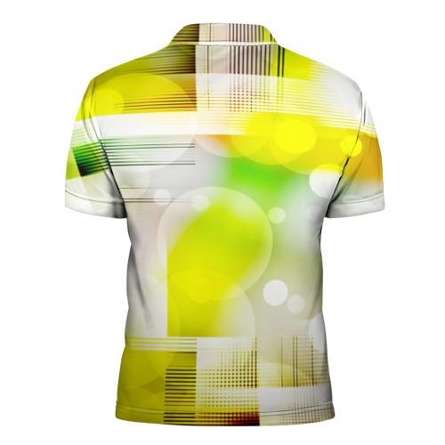 Мужская рубашка поло 3D  Фото 02, Геометрический рисунок