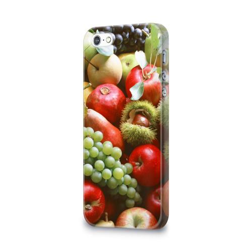 Чехол для Apple iPhone 5/5S 3D  Фото 03, Фрукты и ягоды