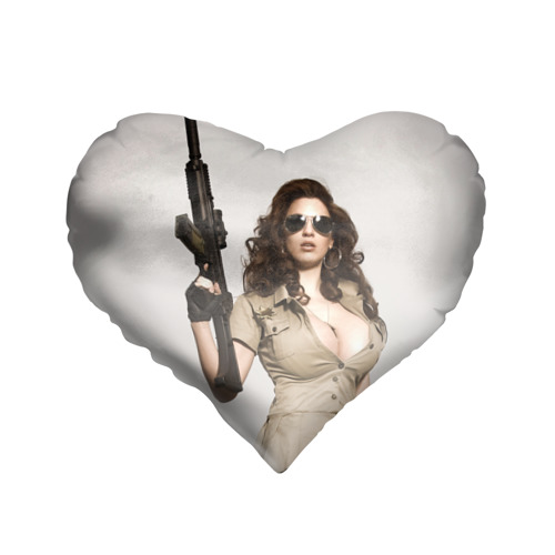 Подушка 3D сердце  Фото 01, Шериф