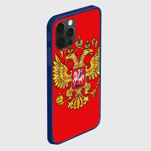 Чехол для iPhone 12 Pro Max Герб России Фото 01